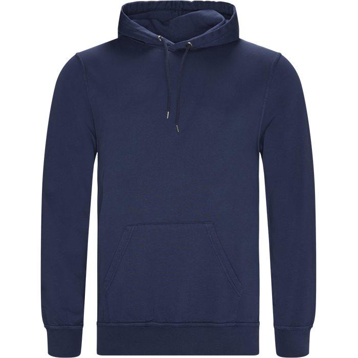 Douro Hoodie - Sweatshirts - Regular - Blå
